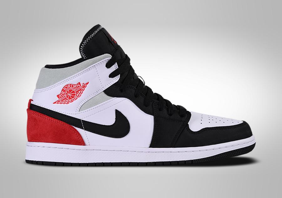 Nike Air Jordan 1 Retro Mid Union Black Toe